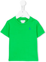 Polo Ralph Lauren logo embroidery T-shirt - kids - Cotton - 12 mth