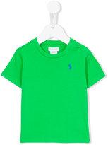 Polo Ralph Lauren logo embroidery T-shirt - kids - Cotton - 24 mth