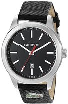 Lacoste Men's 2010778 Auckland Analog Display Japanese Quartz Black Watch