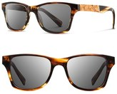 Shwood 'Canby' 53mm Wood Sunglasses