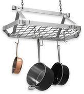 Enclume Decor Retro Stainless Steel Rectangular Pot Rack