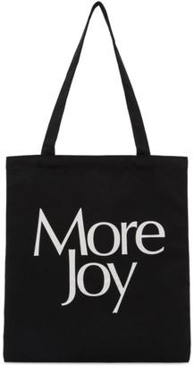 More Joy Black Logo Tote