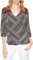 Sanctuary Anabella Embroidered Knit Top