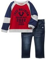 True Religion Jersey Tee & Jeans Set (Baby Boys)