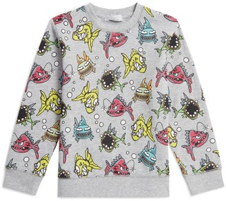Stella McCartney Cotton Angry Fish Sweatshirt
