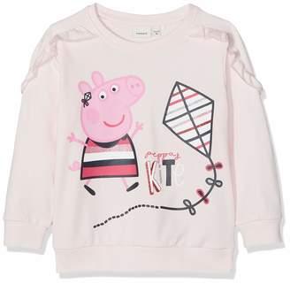 Name It Baby Girls' Nmfpeppapig Marie Sweat Unb Box LIC Sweatshirt
