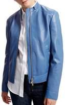 Sportmax Gallo Leather Jacket