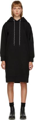 Moncler Black Hoodie Dress