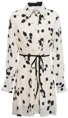 3.1 Phillip Lim Printed Crepe Mini Shirt Dress