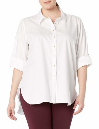 Calvin Klein Women's Plus-Size Non-Iron Tunic