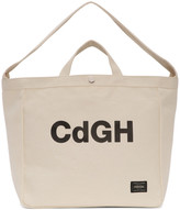 Comme des Garcons Off-White Porter Classics Edition Canvas Tote