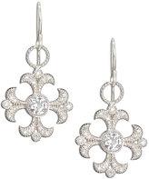Jude Frances 18k White Topaz & Diamond Earring Charms