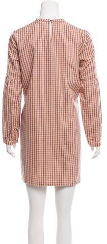 A.P.C. Plaid Mini Dress