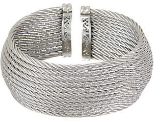 Alor Cable Stainless Steel 12-Row WideCuff