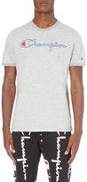 Champion Logo Print Cotton T-shirt