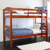 Walker Edison Furniture Twin/Twin Solid Wood Bunk Bed