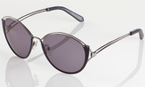 House Of Harlow Steph Sunglasses in Black