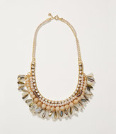 LOFT Flamingo Crystal Beaded Necklace
