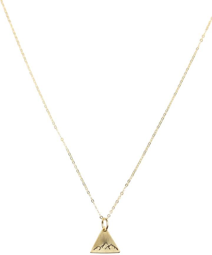 7e4655fff6a80 Dainty Mountain Pendant Necklace