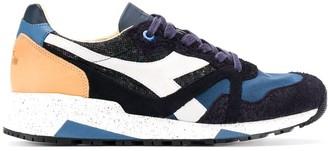 Diadora textured panel sneakers