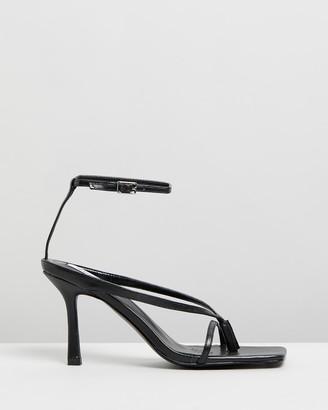 Dazie - Women's Black Strappy sandals - Ulta Heels - Size 5 at The Iconic