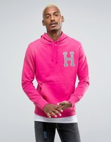 HUF Hoodie With Reflective Applique Logo