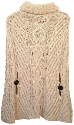 Armani Jeans Beige Wool Top for Women