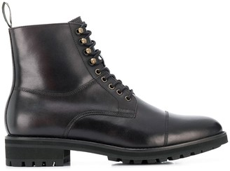 Polo Ralph Lauren military ankle boots