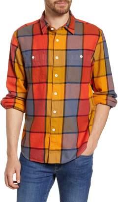 Madewell Naunton Check Heavyweight Twill Long Sleeve Shirt