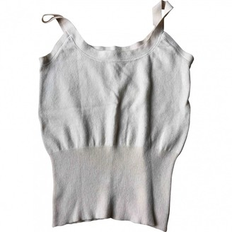 Paule Ka Ecru Wool Knitwear for Women