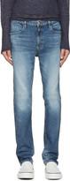 Nonnative Indigo Dweller Tapered Fit Jeans