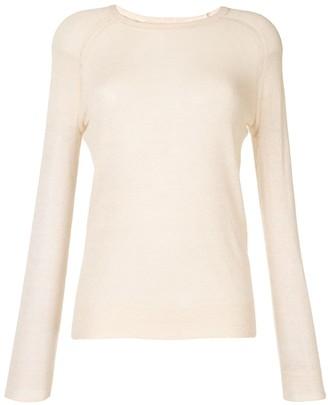 Etoile Isabel Marant Long-Sleeve Sheer Jumper