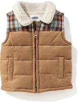 Old Navy Sherpa-Lined Corduroy Vest for Baby
