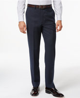 Ryan Seacrest Distinction Blue Pindot Modern-Fit Pants, Only at Macy's