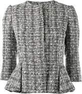 Alexander McQueen bouclé peplum jacket