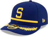 New Era Men's Royal Seattle Mariners Turn Back the Clock Throwback Low Profile 59FIFTY Fitted Hat
