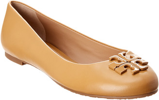 Tory Burch Lowell 2 Leather Ballet Flat