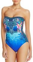 Gottex Oahu Bandeau One Piece Swimsuit