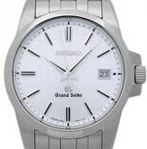 Seiko SBGX047 9F62 Stainless Steel White Dial Quartz 37mm Mens Watch