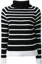 GUILD PRIME striped high neck jumper