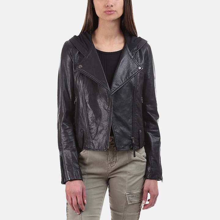 Mackage Keegan Moto Leather Jacket