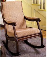 Home Decorators Collection Liverpool Rocking Chair in Antique Oak Finish