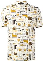 Dolce & Gabbana music printed shirt