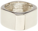 Ariella Collection Metal Barrel Ring
