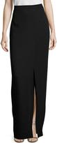 Nicole Miller Women's Crepe Split Maxi Skirt