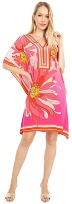 Trina Turk Theodora Dress (Sunset Petals) Women's Clothing