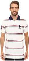 U.S. Polo Assn. Shadow Striped Pique Polo Shirt