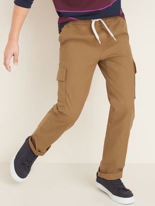 Old Navy Relaxed Slim Built-In Flex Ripstop Pull-On Cargo Pants for Boys