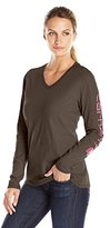 Carhartt Women's Sleeve Logo T-Shirt