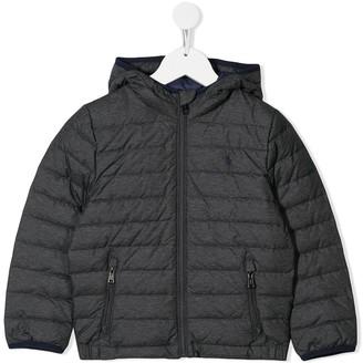 Ralph Lauren Kids Hooded Padded Jacket